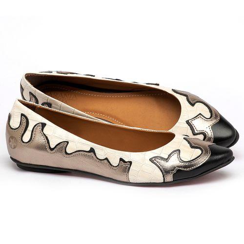 Laranja_Lima_Shoes_Sapatos_Femininos_Sapatilha_Bico_Fino_em_Couro_Metalizado_-_Codigo_-_56225_1