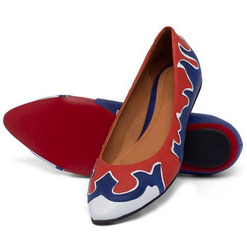 Laranja_Lima_Shoes_Sapatos_Femininos_Sapatilha_Bico_Fino_em_Couro_Multicolor_-_Codigo_-_56225_2