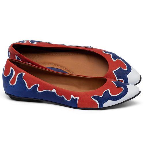 Laranja_Lima_Shoes_Sapatos_Femininos_Sapatilha_Bico_Fino_em_Couro_Multicolor_-_Codigo_-_56225_1