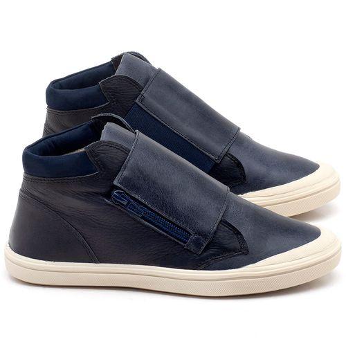Laranja_Lima_Shoes_Sapatos_Femininos_Tenis_Cano_Alto_em_Couro_Marinho_-_Codigo_-_56090_1