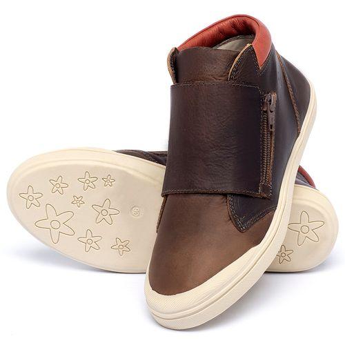 Laranja_Lima_Shoes_Sapatos_Femininos_Tenis_Cano_Alto_em_Couro_Marrom_-_Codigo_-_56090_2