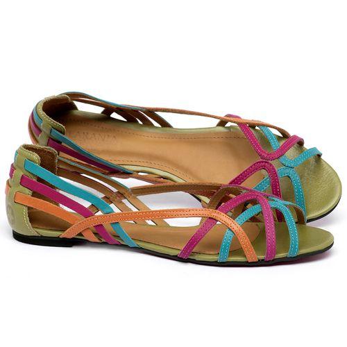 Laranja_Lima_Shoes_Sapatos_Femininos_Sandalia_Rasteira_Flat_em_Couro_Colorido_-_Codigo_-_56218_1