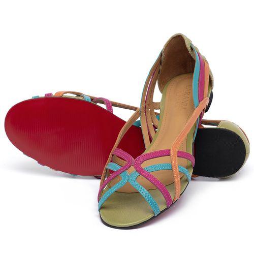 Laranja_Lima_Shoes_Sapatos_Femininos_Sandalia_Rasteira_Flat_em_Couro_Colorido_-_Codigo_-_56218_2