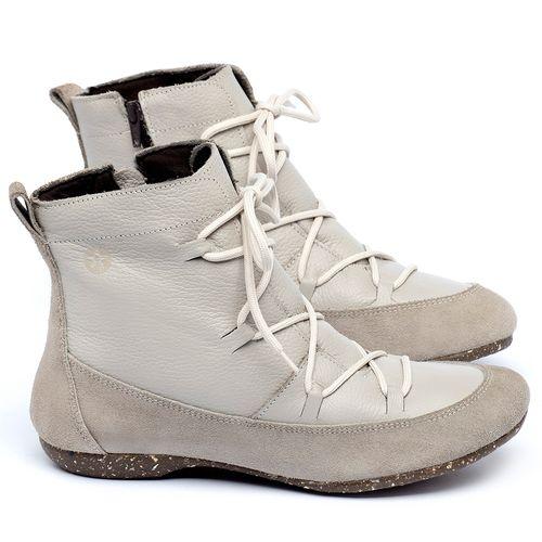 Laranja_Lima_Shoes_Sapatos_Femininos_Flat_Boot_em_Couro_Off-White_-_Codigo_-_148036_1