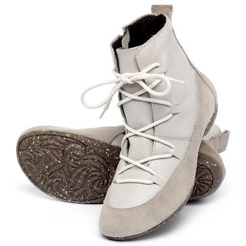 Laranja_Lima_Shoes_Sapatos_Femininos_Flat_Boot_em_Couro_Off-White_-_Codigo_-_148036_2