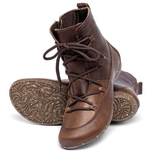 Laranja_Lima_Shoes_Sapatos_Femininos_Flat_Boot_em_Couro_Marrom_-_Codigo_-_148036_2