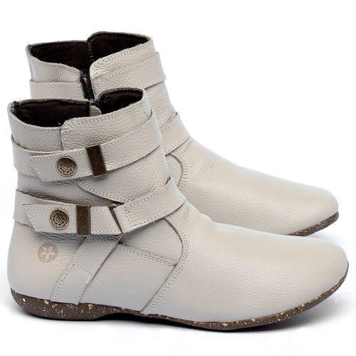 Laranja_Lima_Shoes_Sapatos_Femininos_Flat_Boot_em_Couro_Off-White_-_Codigo_-_148038_1