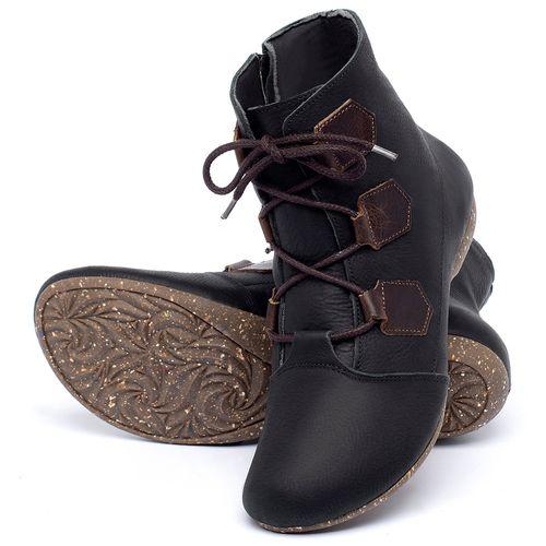 Laranja_Lima_Shoes_Sapatos_Femininos_Flat_Boot_em_Couro_Preto_-_Codigo_-_148040_2