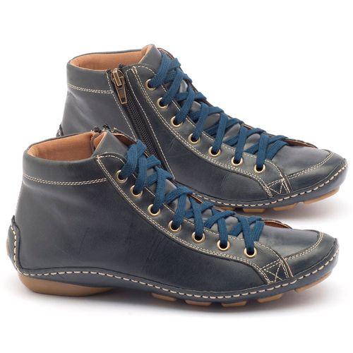 Laranja_Lima_Shoes_Sapatos_Femininos_Tenis_Cano_Alto_em_Couro_Azul_-_Codigo_-_136030_1
