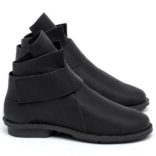 Laranja_Lima_Shoes_Sapatos_Femininos_Bota_Cano_Curto_em_Couro_Preto_-_Codigo_-_139047_1