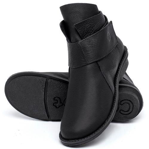 Laranja_Lima_Shoes_Sapatos_Femininos_Bota_Cano_Curto_em_Couro_Preto_-_Codigo_-_139047_2