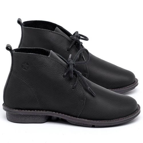 Laranja_Lima_Shoes_Sapatos_Femininos_Bota_Cano_Curto_em_Couro_Preto_-_Codigo_-_139046_1