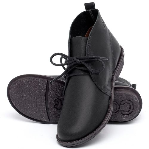 Laranja_Lima_Shoes_Sapatos_Femininos_Bota_Cano_Curto_em_Couro_Preto_-_Codigo_-_139046_2