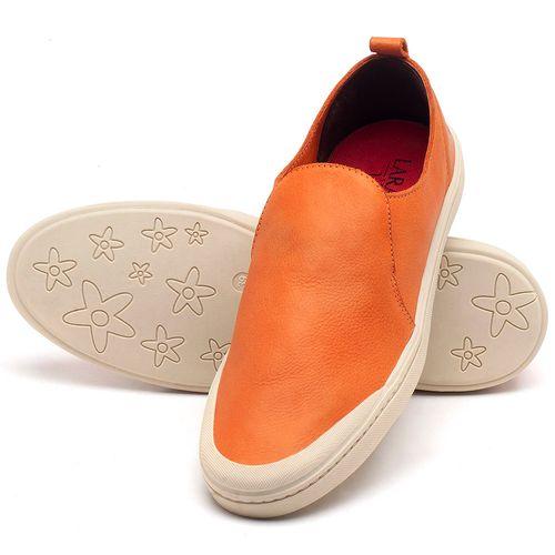 Laranja_Lima_Shoes_Sapatos_Masculinos_Tenis_Masculino_Cano_Baixo_em_Couro_Laranja_-_Codigo_-_141089_2