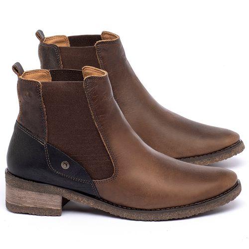 Laranja_Lima_Shoes_Sapatos_Femininos_Bota_Cano_Curto_em_Couro_Marrom_-_Codigo_-_56229_1