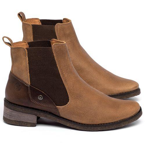 Laranja_Lima_Shoes_Sapatos_Femininos_Bota_Cano_Curto_em_Couro_Caramelo_-_Codigo_-_56229_1