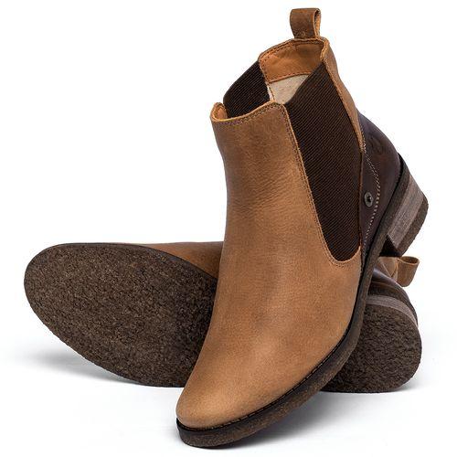 Laranja_Lima_Shoes_Sapatos_Femininos_Bota_Cano_Curto_em_Couro_Caramelo_-_Codigo_-_56229_2