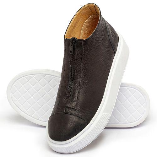 Laranja_Lima_Shoes_Sapatos_Femininos_Tenis_Cano_Alto_em_Couro_Preto_-_Codigo_-_3750_2
