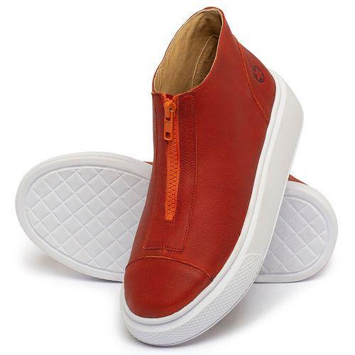 Laranja_Lima_Shoes_Sapatos_Femininos_Tenis_Cano_Alto_em_Couro_Vermelho_-_Codigo_-_3750_2