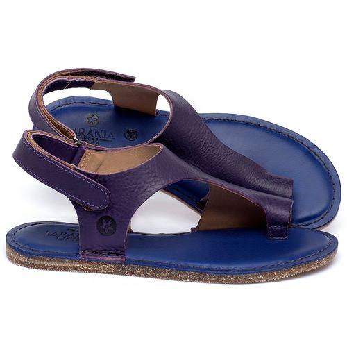 Laranja_Lima_Shoes_Sapatos_Femininos_Sandalia_Rasteira_Flat_em_Couro_Roxo_-_Codigo_-_141102_1