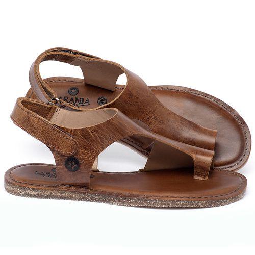Laranja_Lima_Shoes_Sapatos_Femininos_Sandalia_Rasteira_Flat_em_Couro_Marrom_-_Codigo_-_141102_1