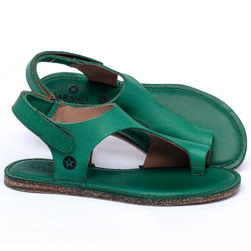 Laranja_Lima_Shoes_Sapatos_Femininos_Sandalia_Rasteira_Flat_em_Couro_Verde_-_Codigo_-_141102_1