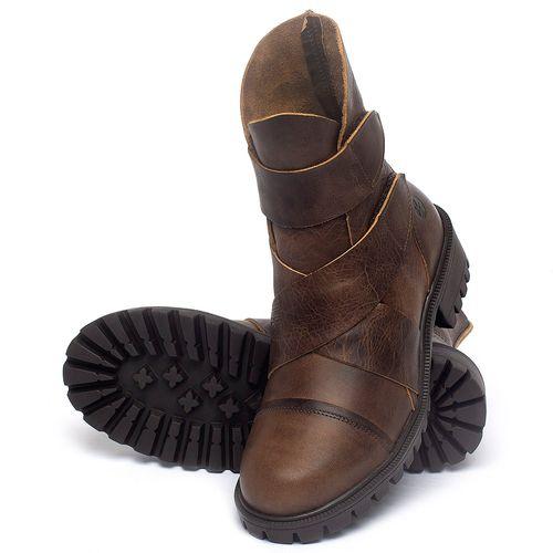 Laranja_Lima_Shoes_Sapatos_Femininos_Bota_Cano_Curto_em_Couro_Marrom_-_Codigo_-_137235_2