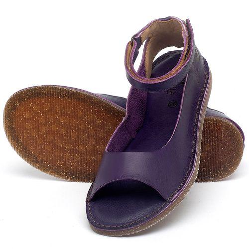 Laranja_Lima_Shoes_Sapatos_Femininos_Sandalia_Rasteira_Flat_em_Couro_Roxo_-_Codigo_-_141158_2