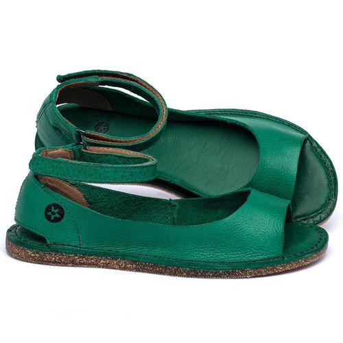Laranja_Lima_Shoes_Sapatos_Femininos_Sandalia_Rasteira_Flat_em_Couro_Verde_-_Codigo_-_141158_1
