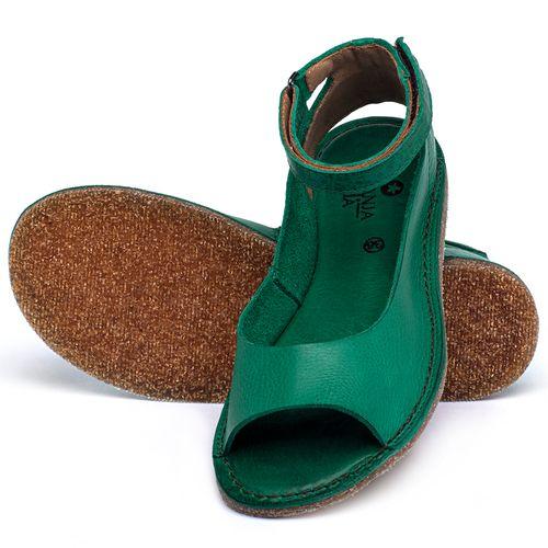 Laranja_Lima_Shoes_Sapatos_Femininos_Sandalia_Rasteira_Flat_em_Couro_Verde_-_Codigo_-_141158_2