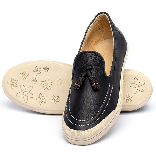 Laranja_Lima_Shoes_Sapatos_Femininos_Tenis_Cano_Baixo_em_Couro_Preto_-_Codigo_-_3751_2