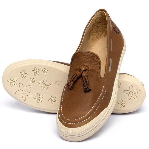 Laranja_Lima_Shoes_Sapatos_Femininos_Tenis_Cano_Baixo_em_Couro_Caramelo_-_Codigo_-_3751_2