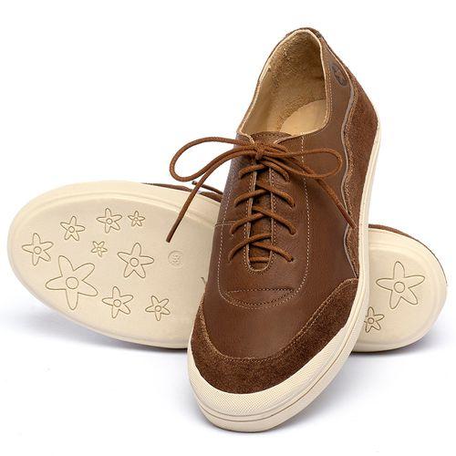 Laranja_Lima_Shoes_Sapatos_Femininos_Tenis_Cano_Baixo_em_Couro_Caramelo_-_Codigo_-_3752_2