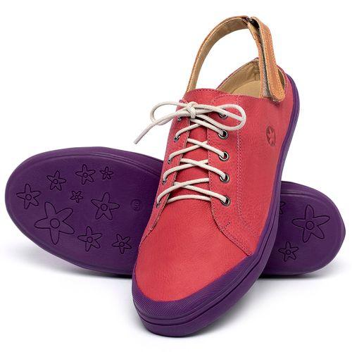Laranja_Lima_Shoes_Sapatos_Femininos_Tenis_Cano_Baixo_em_Couro_Rosa_-_Codigo_-_3753_2