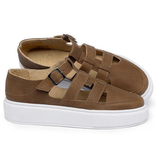 Laranja_Lima_Shoes_Sapatos_Femininos_Tenis_Cano_Baixo_em_Couro_Caramelo_-_Codigo_-_3756_1