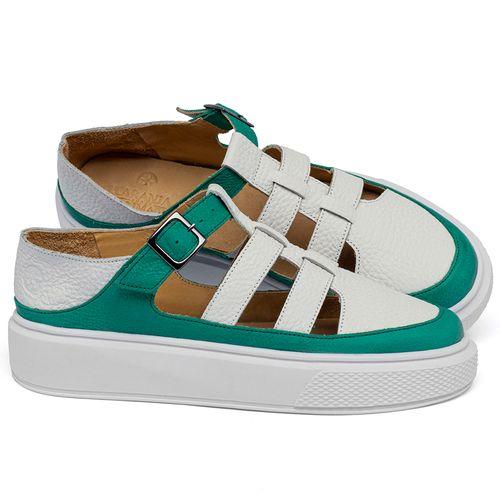 Laranja_Lima_Shoes_Sapatos_Femininos_Tenis_Cano_Baixo_em_Couro_Bicolor_-_Codigo_-_3756_1