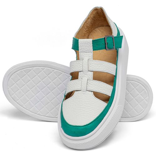 Laranja_Lima_Shoes_Sapatos_Femininos_Tenis_Cano_Baixo_em_Couro_Bicolor_-_Codigo_-_3756_2