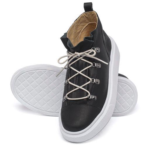 Laranja_Lima_Shoes_Sapatos_Femininos_Tenis_Cano_Alto_em_Couro_Preto_-_Codigo_-_3758_2