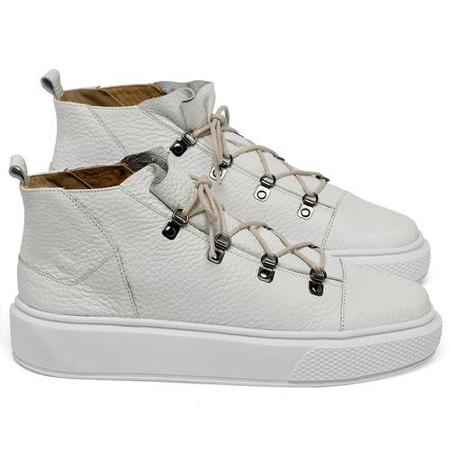 Laranja_Lima_Shoes_Sapatos_Femininos_Tenis_Cano_Alto_em_Couro_Off-White_-_Codigo_-_3758_1