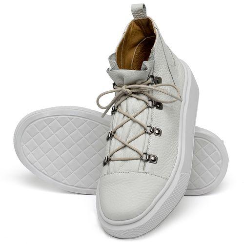 Laranja_Lima_Shoes_Sapatos_Femininos_Tenis_Cano_Alto_em_Couro_Off-White_-_Codigo_-_3758_2