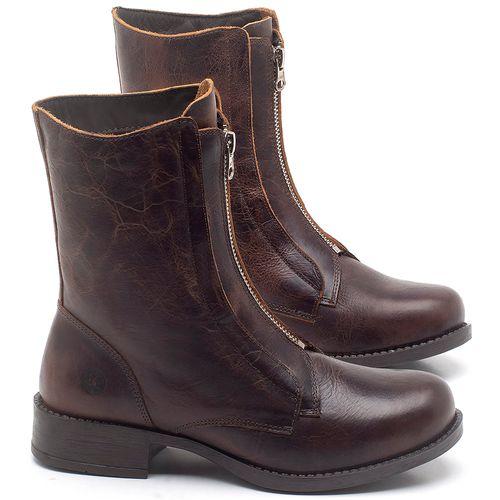 Laranja_Lima_Shoes_Sapatos_Femininos_Bota_Cano_Medio_em_Couro_Marrom_-_Codigo_-_141123_1