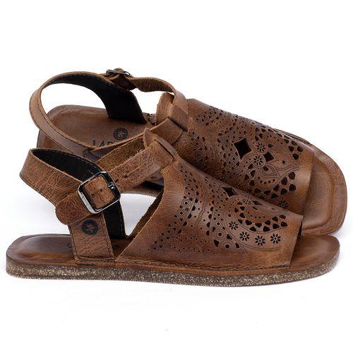 Laranja_Lima_Shoes_Sapatos_Femininos_Sandalia_Rasteira_Flat_em_Couro_Marrom_-_Codigo_-_141022_1