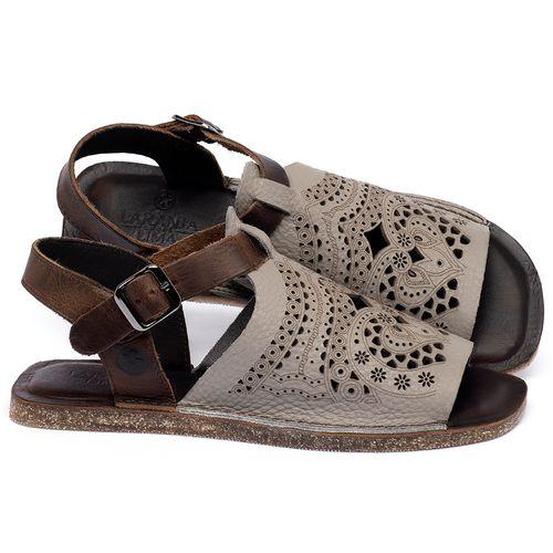Laranja_Lima_Shoes_Sapatos_Femininos_Sandalia_Rasteira_Flat_em_Couro_Cinza_-_Codigo_-_141022_1