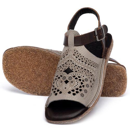 Laranja_Lima_Shoes_Sapatos_Femininos_Sandalia_Rasteira_Flat_em_Couro_Cinza_-_Codigo_-_141022_2