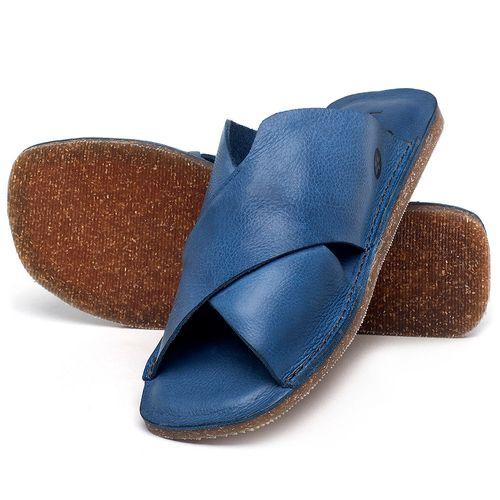 Laranja_Lima_Shoes_Sapatos_Femininos_Sandalia_Rasteira_Flat_em_Couro_Azul_-_Codigo_-_141155_2