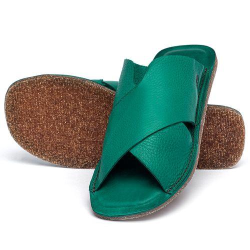 Laranja_Lima_Shoes_Sapatos_Femininos_Sandalia_Rasteira_Flat_em_Couro_Verde_-_Codigo_-_141155_2