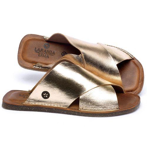 Laranja_Lima_Shoes_Sapatos_Femininos_Sandalia_Rasteira_Flat_em_Couro_Metalizado_-_Codigo_-_141155_1
