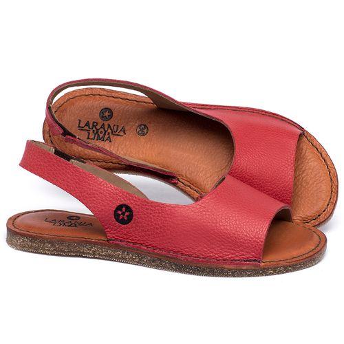 Laranja_Lima_Shoes_Sapatos_Femininos_Sandalia_Rasteira_Flat_em_Couro_Bicolor_-_Codigo_-_141163_1