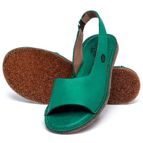 Laranja_Lima_Shoes_Sapatos_Femininos_Sandalia_Rasteira_Flat_em_Couro_Verde_-_Codigo_-_141163_2