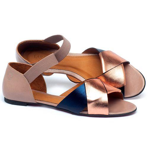 Laranja_Lima_Shoes_Sapatos_Femininos_Sapatilha_Peep_Toe_em_Couro_Multicolor_-_Codigo_-_56220_1